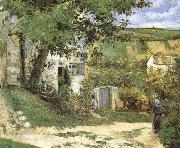 Camille Pissarro Pang Schwarz housing plan china oil painting reproduction