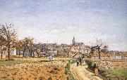 Camille Pissarro Pang plans Schwarz china oil painting reproduction
