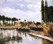 Camille Pissarro Pang plans Schwarz lake china oil painting reproduction