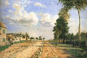 Camille Pissarro Versailles Road china oil painting reproduction
