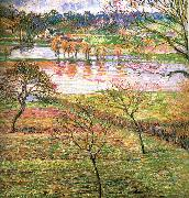 Camille Pissarro Flooding china oil painting reproduction