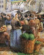 Camille Pissarro market china oil painting reproduction