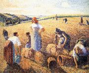 Camille Pissarro Harvest china oil painting reproduction