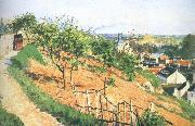Camille Pissarro Pang plans scenery Schwarz china oil painting reproduction