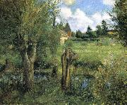 Camille Pissarro the riparian china oil painting reproduction