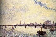 Camille Pissarro London Bridge china oil painting reproduction