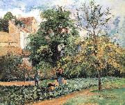 Camille Pissarro Pang plans Schwarz orchards china oil painting reproduction