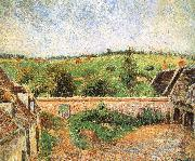 Camille Pissarro Farmer s yard china oil painting reproduction