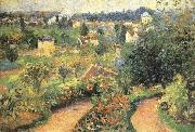 Camille Pissarro Lush garden china oil painting reproduction