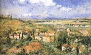 Camille Pissarro Pang plans Schwarz summer china oil painting reproduction
