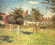 Camille Pissarro Afternoon sunshine china oil painting reproduction