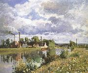 Camille Pissarro Shore plant china oil painting reproduction