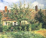 Camille Pissarro Farmhouse china oil painting reproduction