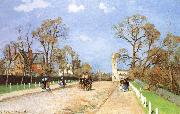 Camille Pissarro Road china oil painting reproduction