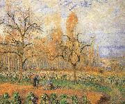 Camille Pissarro Farmland landscape china oil painting reproduction
