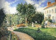 Camille Pissarro Garden china oil painting reproduction