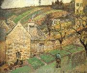 Camille Pissarro Hill china oil painting reproduction