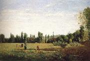 Camille Pissarro Outlook fields china oil painting reproduction
