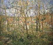 Camille Pissarro Woods china oil painting reproduction