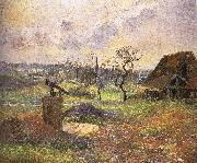 Camille Pissarro scenery china oil painting reproduction