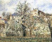 Camille Pissarro Pang plans spring Schwarz china oil painting reproduction
