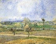 Camille Pissarro Rain scenery china oil painting reproduction