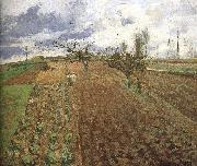 Camille Pissarro Farmland china oil painting reproduction