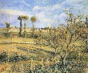 Camille Pissarro Sunset china oil painting reproduction