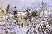 Camille Pissarro Snow housing china oil painting reproduction