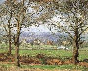 Camille Pissarro Park view china oil painting reproduction