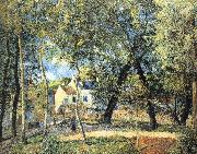 Camille Pissarro Hurrying to the landscape china oil painting reproduction