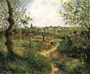 Camille Pissarro Landscape china oil painting reproduction