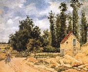 Camille Pissarro Pang Schwarz road map china oil painting reproduction