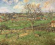 Camille Pissarro The peach trees in winter china oil painting reproduction