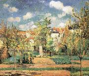 Camille Pissarro Pang plans under the sun Schwarz china oil painting reproduction