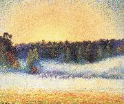Camille Pissarro Sunsets china oil painting reproduction