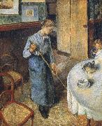 Camille Pissarro Rural small maids china oil painting reproduction