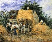 Camille Pissarro Yun-hay carriage china oil painting reproduction
