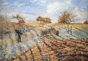 Camille Pissarro Hoar frost china oil painting reproduction