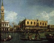 Canaletto basino san marco venedig china oil painting reproduction