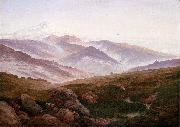 Caspar David Friedrich The Giant Mountains china oil painting reproduction