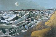 Caspar David Friedrich Paul Nash, Totes Meer china oil painting reproduction