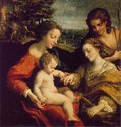 Correggio The Mystic Marriage of St. Catherine china oil painting reproduction