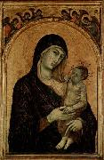 Duccio Madonna with Child. china oil painting reproduction