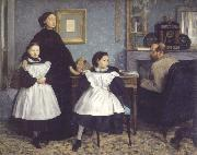 Edgar Degas the bellelli family china oil painting reproduction