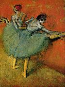 Edgar Degas Dancers at The Bar china oil painting reproduction