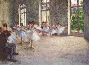 Edgar Degas Ballet Rehearsal china oil painting reproduction