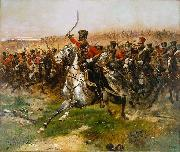 Edouard Detaille Vive L Empereur china oil painting reproduction