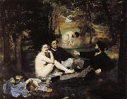 Edouard Manet Grass lunch china oil painting reproduction