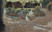 Edouard Vuillard in the garden china oil painting reproduction